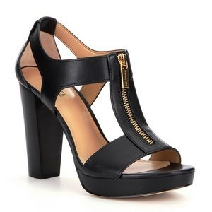 Michael Kors Black Berkley Black Heeled Sandals